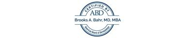 Brooks Bahr ABD certification